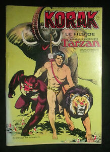 Korak-le-fils-de-Tarzan-1978-E-R-Burroughs-Appel-de-la-Jungle-Sogedition