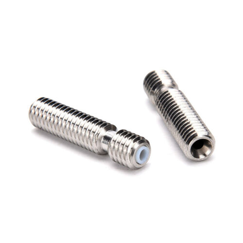 M6x26 Stainless Steel Nozzle Throat Fr Reprap 3D Printer Extruder Hot End1.75mmH