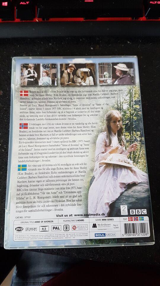 Anne fra Grønnebakken, DVD, drama