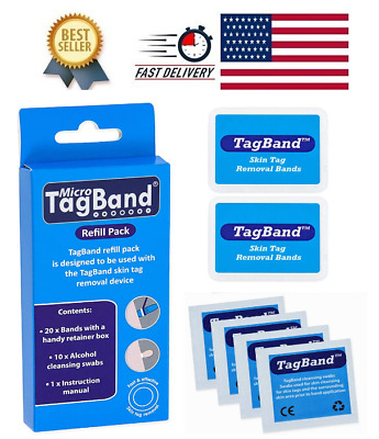 Micro Tagband Refill Band Pack For Skin Tag Remover Device Ebay