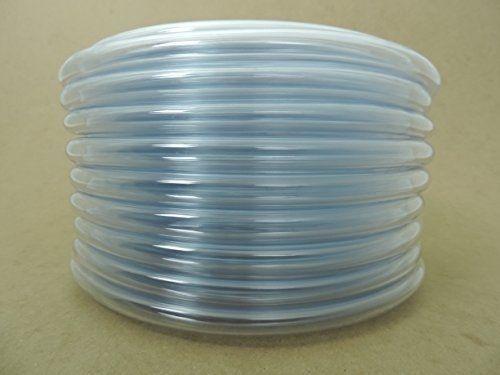 """Clear Flexible PVC Vinyl  Vacuum Hose Tubing Water Sprinkler 100ft 1//2/""""ID 3//4/""""OD"""