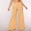 thumbnail 3 - Women See Through Boho Wide Leg High Waist  Beach Long Loose Mesh Sheer Pants