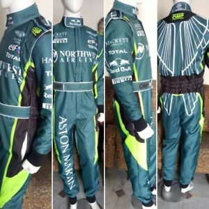 Aston Martin Go Kart Race Suit Cik Fia Level 2 Approved With Free Gifts Included Ebay