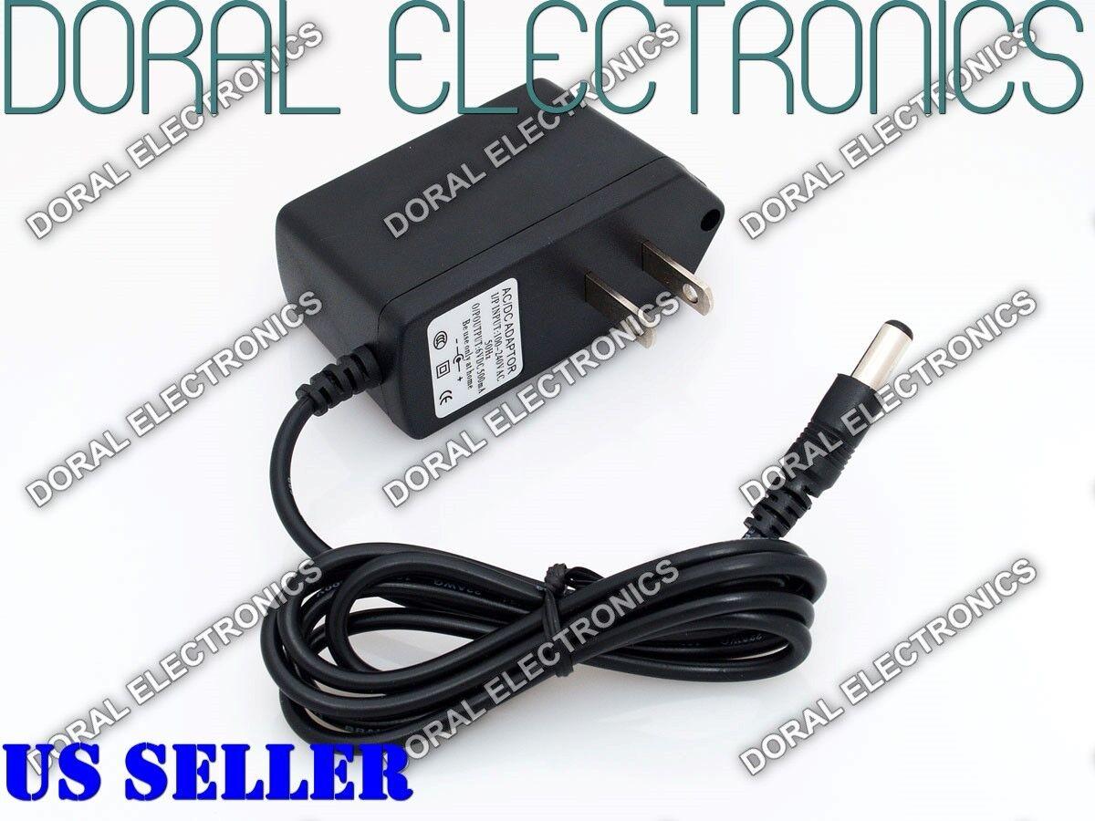6V DC 0.5A 1A 2A Power Supply Adapter 110 220 6 V Volt 6Volt Wall 500ma 1000ma