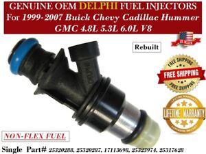 NEW Repair Kit 8x Fuel injectors For 2007 GMC Sierra 1500 HD Classic 6.0L V8