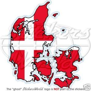 DENMARK-Danish-Map-Flag-DANE-EU-Vinyl-Bumper-Sticker-Decal