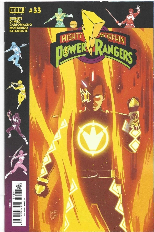 MIGHTY MORPHIN POWER RANGERS WK48 FOIL VARIANT #45B BOOM! STUDIOS