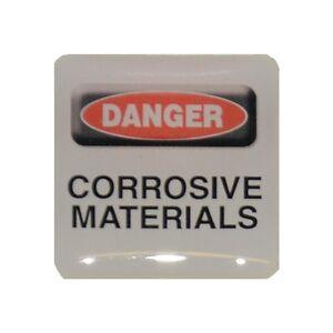 Case-Sticker-Danger-Corrosive-Materials