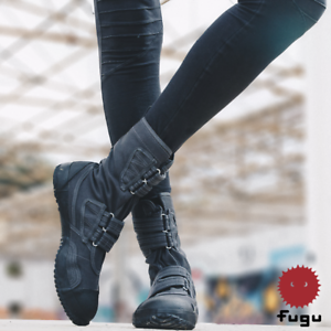 e577f9d9dd0 Details about Gray Fugu Sa-Me Unisex Japanese Vegan Shoes & Boots. Perfect  Burning Man Shoes