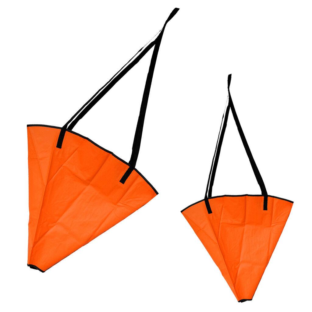 18  24  Mar Ancla de anclaje 12-16 ft  Kayak Barco De Vela Calcetín deriva paracaídas de freno  lo último