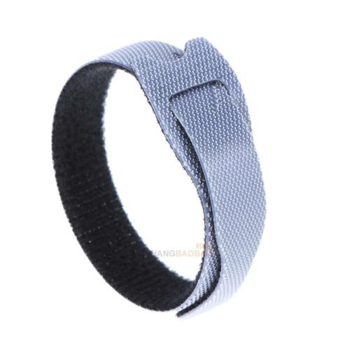 12mm Magic Nylon Reusable Cable Ties with Eyelet Holes Strap Wrap Tape For Wire