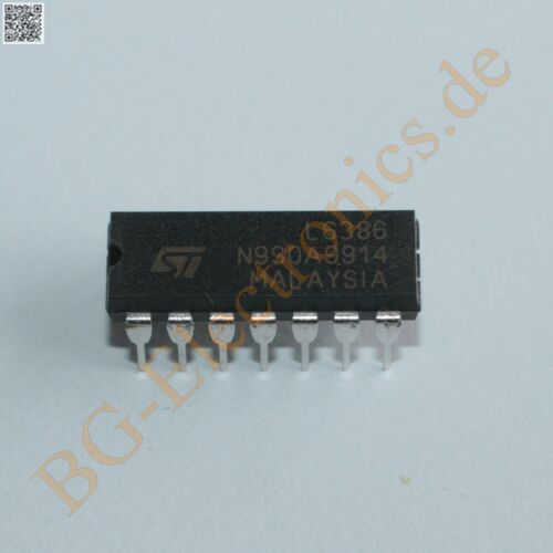 1 x l6386 high-voltage High and Low side Driver STM dip-14 1pcs