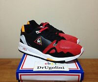 Le Coq Sportif X Hal R 1000 Black Leather Red swan Pack Highs And Lows