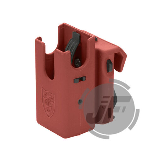 IPSC USPSA IDPA 360 Degree Rotating Pistol Magazine Mag Pouch Carrier Holster