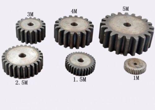 45# Steel Motor Gear Spur Gear 2Mod 24Tooth Thickness 20mm x 1Pcs #Mw01 QL