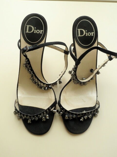 Dior Sandaletten - 38 - Abendschuh - High Heel - wenig getragen