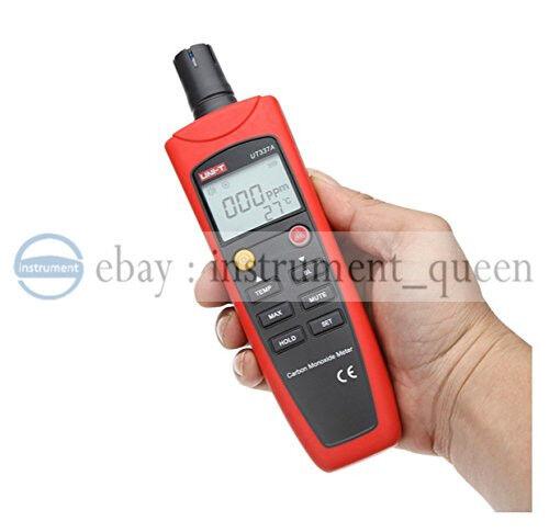 UNI-T UT337A Smart Sensor Handheld CO Tester with Sound /& Light Alarm Backlight Display Carbon Monoxide Meter