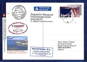 44478) Irlande Ryanair Ff Frdhfn-alicante 27.10.09 Zeppelin Nt à Partir De La Norvège Ga-afficher Le Titre D'origine