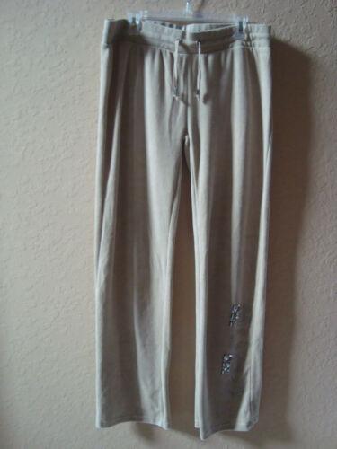 Pants taglia Velour Bcbg Xl Max Womens Azria Strass New Ginger Lounge Tan 41nw7pEq1