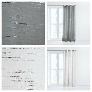 Moderner Vorhang Grau Gedrucktes Muster Design Im Wohnzimmer 6