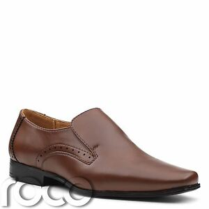 Boys-Brown-shoes-boys-slip-On-shoes-boys-Formal-shoes-boys-Dress-shoes