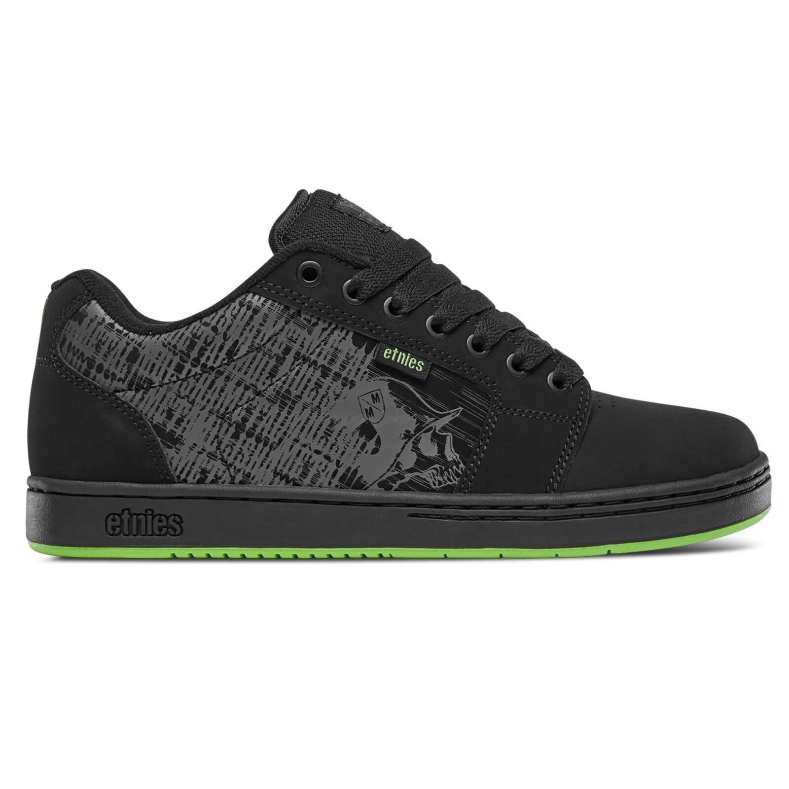 Etnies-Metal Mulisha Barge XL 4107000540 895 nero Lime | Stili diversi