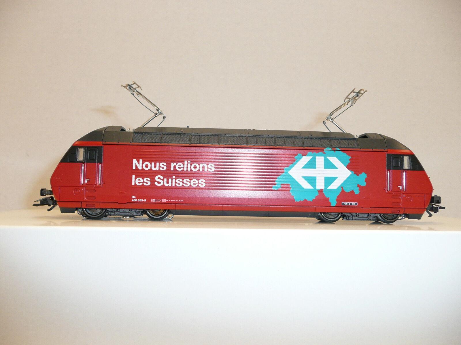 Marklin HO AC 34619 SBB SBB SBB Re 460-035-9 rosso electric locomotive. NIB fd15a1