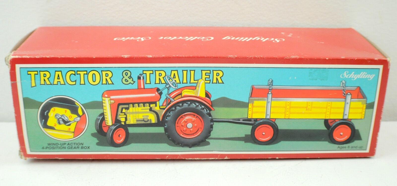 Vintage Schylling Tractor & Trailer