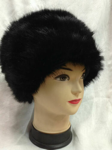 Fashion Women Lady Faux Fox Fur Cossack Style Russian Winter Hats Warm Cap NEW