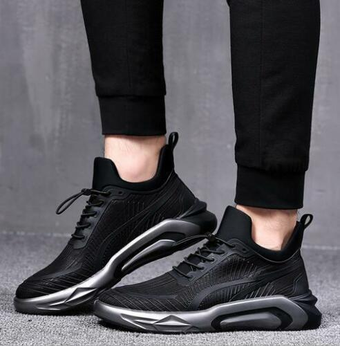 Men/'s New Casual Sports Hiking Outdoor Breathable Lace-up Shoes Flat Sneakers