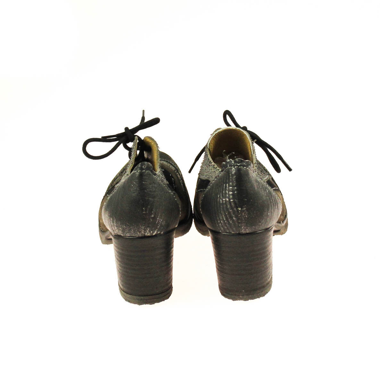 Charme Damen Halbschuh Pumps Leder Braun Grau Schwarz Mehrfarbig Mehrfarbig Mehrfarbig    8b3faf