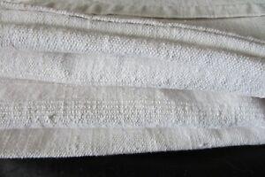 Beautiful-Antique-French-Harvest-Chanvre-Linen-Tablecloth-Mono-BL-c1850s-3-x-7ft