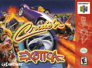 Cruis'n Exotica N64 Great Condition Fast Shipping
