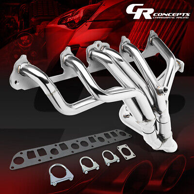 For Jeep Cherokee//Wagoneer 4.0L Tubular Manifold TRI-Y Exhaust Header Manifold