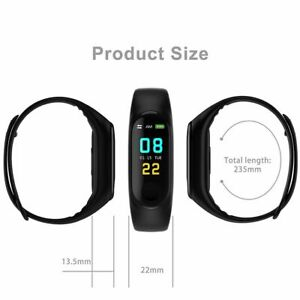 Smart-Band-Watch-Bracelet-Wristband-Fitness-Tracker-Blood-Pressure-HeartRate-M3s