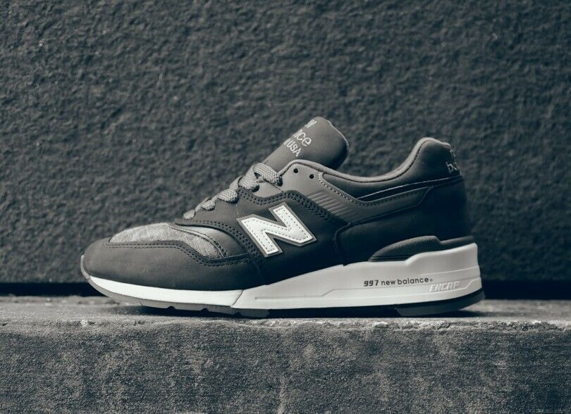NEW BALANCE 997 DPA J. CREW collaboration anthracite camouflage 3 M Détaillant Taille.