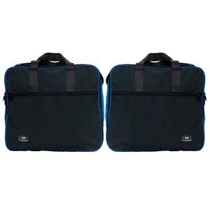 Panniers-Liner-Inner-Bags-To-Fit-DUCATI-ENDURO-ALUMINIUM-Blue-Black