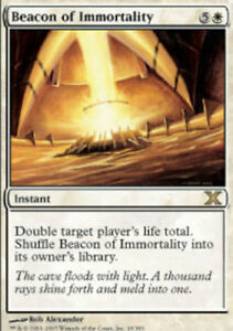 White Tenth 10th Edition Mtg Magic Rare 1x x1 1 PLAYED Beacon of Immortality