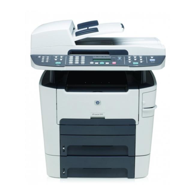 HP LaserJet 3392 MFP Q6501A - Fax S/W Duplex USB Netzwerk *Gebraucht*