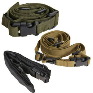 3-Point-Tactical-Rifle-Sling-Adjustable-Gun-Rifle-Strap-Cord-Belt-For-Hunting