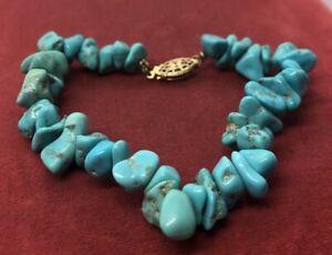 Vintage-Bracelet-Gold-Filled-Clasp-Turquoise-1-20-12k-7