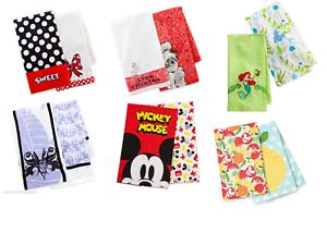 Disney-Kitchen-Towel-Set-2-Pack-Tinker-Bell-Minnie-Maleficent-Belle-Theme-Parks