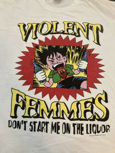 Vintage 1994 Violent Femmes Don't Start me on the