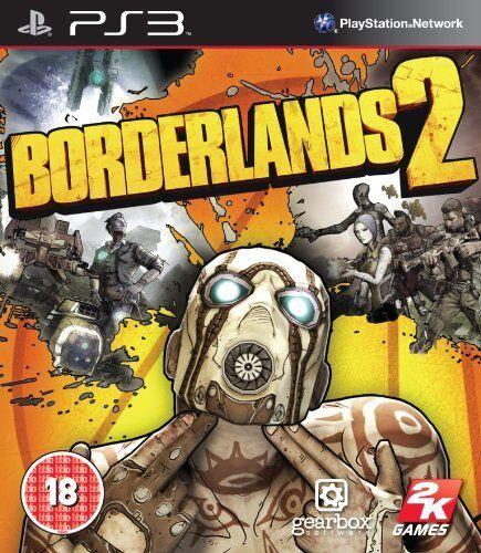 Brand New Sealed Borderlands2 Standard Sony Playstation 3 PS3 2K Game PAL Action
