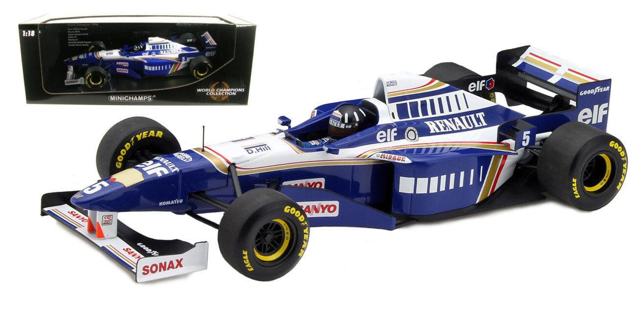 Minichamps Williams FW18 World Champion - Damon Hill 1 18 Scale
