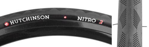 Hutchinson Tire Nitro-2 700X25 Black Wire