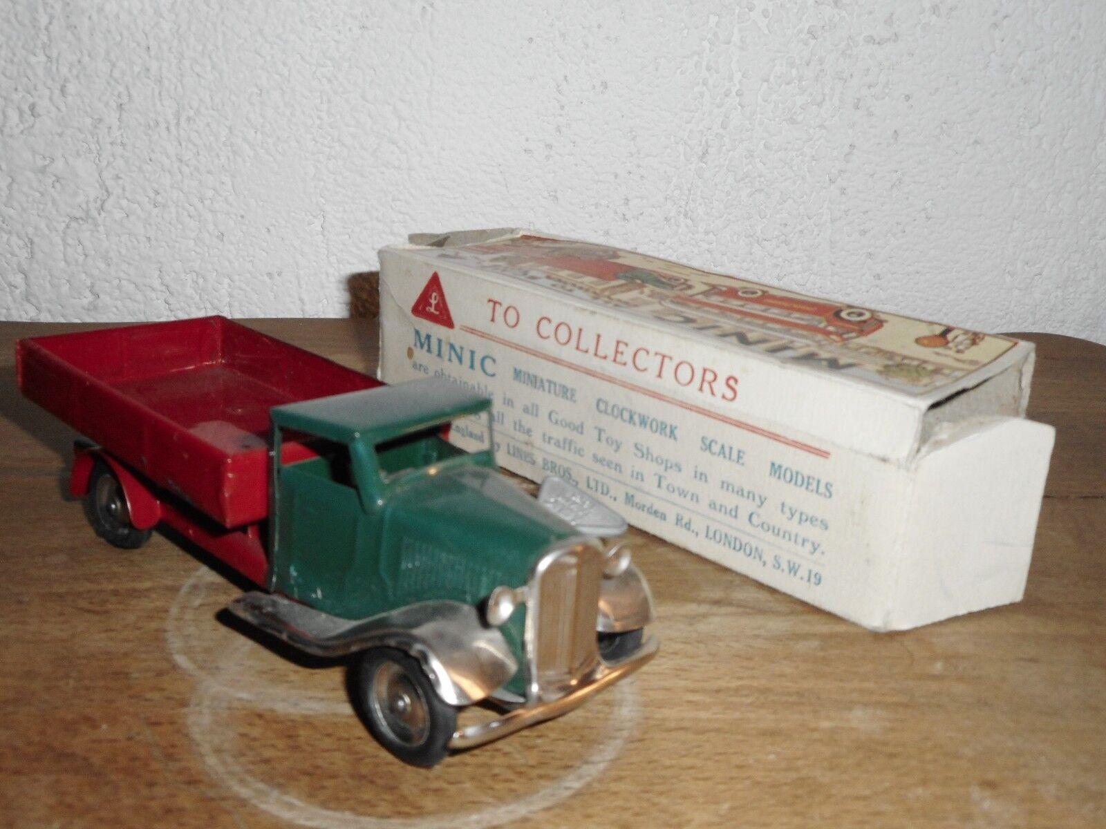 Bonne offre offre offre à Noël TRIANG MINIC MINIC Camion benne  TRIANG; MINIC f78306