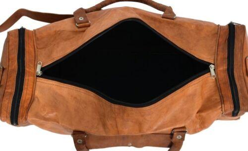 Gepäcktasche Sport Large Duffle Reisetasche Leder Tote Men New Vintage Echtes axfzwYA