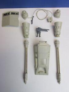 Vintage Star Wars ESB Original PARTS Accessories for 1980 Rebel Snowspeeder Hoth