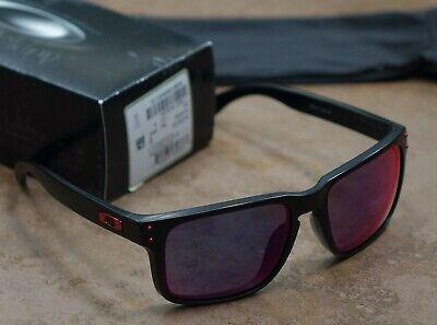 Oakley Holbrook Sunglasses, Matte Black, Positive Red ...